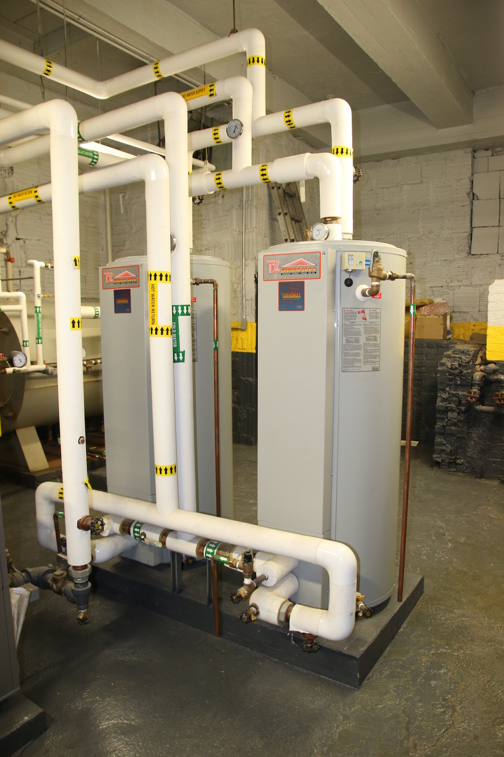 Boiler Burner Replacement And New Domestic Hot Water